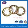 J6797plaqué zinc DIN dents internes de l'acier de la rondelle de blocage