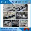Holiauma中国マルチヘッド機能4ヘッド刺繍機械3D帽子の管状の高速刺繍機械