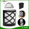 Lâmpada ao ar livre solar energy-saving da cerca do jardim do controle claro de 6 luzes da jarda do diodo emissor de luz para a jarda do trajeto