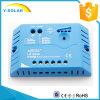 regulador solar de 12V/24V 10A com operação simples e Ce Ls1024e