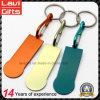 Kundenspezifische Form-Metalllaufkatze-Münze Keychain mit Farbe