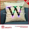 Cuscino del cotone dell'indicatore luminoso 45cm*45cm di Squae LED con la stampa delle lettere