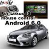 Android 6.0 Sistema de Navegação GPS Interface de Vídeo para 2011-2017 Lexus é etc.