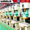 Prensa de forja mecánica para la fábrica del rodamiento o del borde