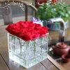 Caja de presentación modificada para requisitos particulares buen precio del florero de China