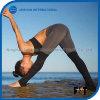 Guêtres confortables de sports de femmes piquant le pantalon de forme physique de bloc de couleur