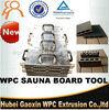 Formazione per estrusione della scheda di sauna di /WPC della muffa della scheda di sauna della Cina
