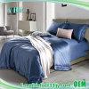 De luxueuze 4PCS Kust Blauwe Koning van de Dekking van het Dekbed 1000t