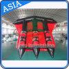 3 tubi che pilotano Towables/barca di banana gonfiabile dei pesci di volo per gli sport di acqua