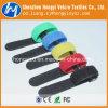Lazo de alambre durable de nylon al por mayor del gancho de leva y del Velcro del bucle