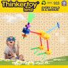 El animal feliz del parque zoológico de los artesanos universales de Thinkertoy bloquea el juguete de la avestruz