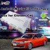 차 GPS Mirrorlink 던지기 스크린을%s 가진 Citroen C4를 위한 인조 인간 항해 체계