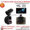 2.0  câmera cheia confidencial da caixa negra do carro de HD 1440p com o carro DVR de Novatek 96660, G-Sensor, visão noturna, gravador de vídeo de estacionamento de Digitas do traço do carro do controle
