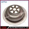 Fundo de peças metálicas personalizadas de drenagem no piso de aço inoxidável (WW-DD003)