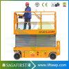 High Rise hidráulico limpieza de ventanas, Lifting Levantamiento de tijera para la venta