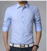 Ressort occasionnel de jupe de chemise de Sun de coton de chemise de plaid d'été de chemise de long de paragraphe vent desserré Long-Sleeved femelle de FB