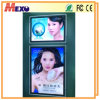 大きいライトボックスアクリルポスターボードを広告するA0肖像画LED