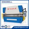 Máquina de dobra hidráulica da placa da folha de metal para a venda