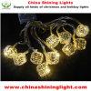 1m明確なワイヤー休日のパーティの装飾LEDストリングライト