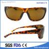 Nouvelles lunettes de soleil de vente de mode polarisées par plastique de miroir des sports