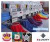 De HoofdMachine van het Borduurwerk van Hoge snelheid zes voor GLB/shoes/T-Overhemd