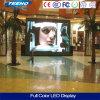 Alta definición P4.81 LED de interior que hace publicidad de la muestra