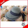 Sombrero flojo de la trenza de papel de las mujeres de Sun de la paja de papel