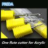 CNC pulido micro sola flauta máquina herramienta