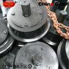 Diametro personalizzato delle rotelle di automobile della miniera dell'acciaio di getto 300mm