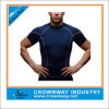 O Nec를 가진 최고 Mens Gym Sports Workout Thermal Tee