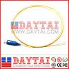 Sc/Upc Singlemode Fiber Optic Pigtail 9/125um
