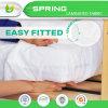 80%Cotton 20%Polyester impermeabilizan los primeros del colchón de la espuma de la reina