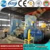 Машина завальцовки Mclw11s-80*3200 плиты CNC выдвиженческого Ce 3 Rolls плиты ролика Approved