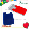 Mobiltelefonsilikon-Kartenbeutel mit Aufkleber (pH09-084)