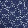 Merletto del cotone del blu marino per il tessuto del merletto degli accessori dell'indumento