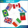 Изготовленный на заказ флаги волны руки полиэфира (B-NF01F02017)