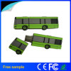 주문 PVC 학교 버스 모양 USB 섬광 드라이브 4GB