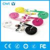 Câble usb plat Charger&Transfer de caractéristiques colorées d'USB