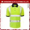 Overhemden Van uitstekende kwaliteit van het Polo van het Werk van de Veiligheid van de douane de Weerspiegelende (eltspsi-9)
