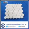 Alumina Tile Hexagonal Cerâmica em Nylon Mat