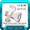 Geschenk Taste-Geformter USB-greller Treiber