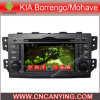 Reprodutor de DVD do carro para o reprodutor de DVD puro do carro do Android 4.4 com a tela de toque capacitiva GPS do processador central A9 Bluetooth para KIA Borrengo/Mohave (AD-7030)