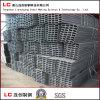 pipa de acero rectangular de 100mmx50mmx1.95m m para la estructura Corea exportada edificio