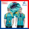 O preço barato de Healong China veste o bom t-shirt dos adolescentes do Sublimation do projeto