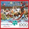 Fabriqué en Chine 1000 personnalisé Pièce de puzzle de Noël