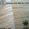 Chanvre / tissu élastique en polyester recyclé (QF13-0006)