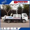 50 Cbm/van het Uur Concrete Pomp met Opgezette Vrachtwagen