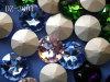 Decorazione di cristallo del gioiello di modo (3001)