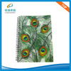 Cuaderno espiral de la cubierta colorida de los PP
