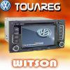 폭스바겐 Touareg W2-D9200V를 위한 GPS를 가진 Witson 차 DVD 플레이어